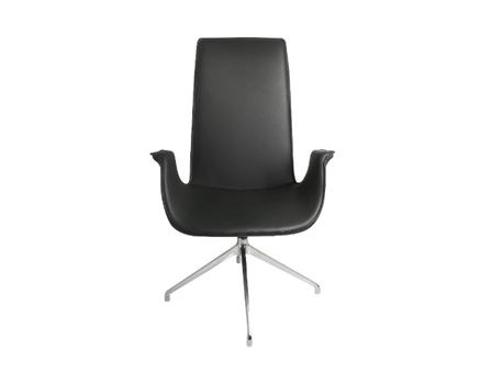 XR-U33A - Black Swivel Leisure Chair