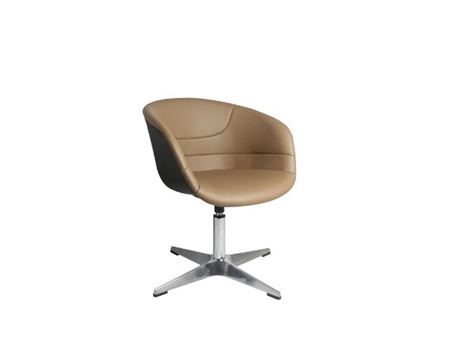 XR-U1823 - Taupe Swivel Leisure Chair