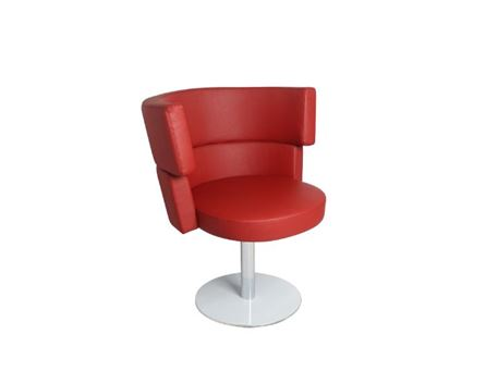 XR-U1818 - Red Swivel Leisure Chair