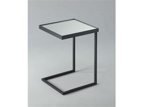 GABBRINI - Square Insert Side Table With A Mirror Top