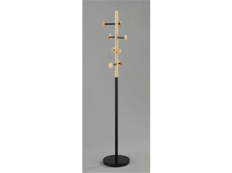 RABIELA - Black & Natural Color Coat Hanger