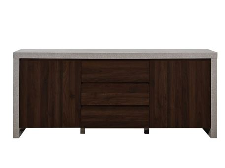 ESTONIE - Grey & Dark Oak Sideboard