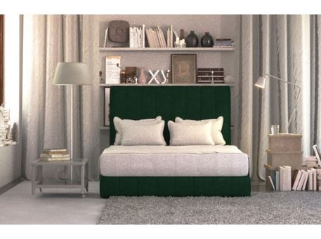 DIANE - Queen Size Local Bed With Upholstered Headboard