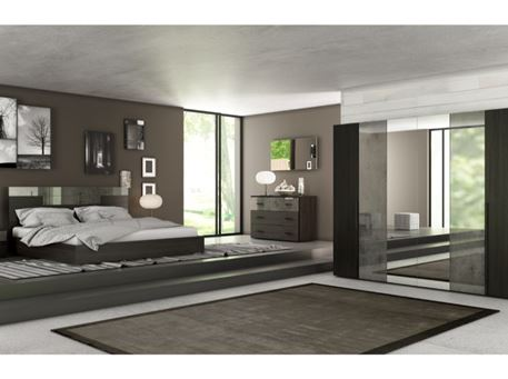 LIGUSTRO - King Size Bedroom Set