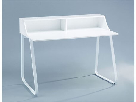 ALVISE -  Simple White Home Office Desk