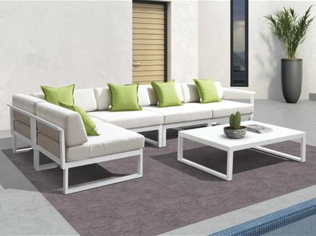 838SS234 - Outdoor L-Shaped Sofa