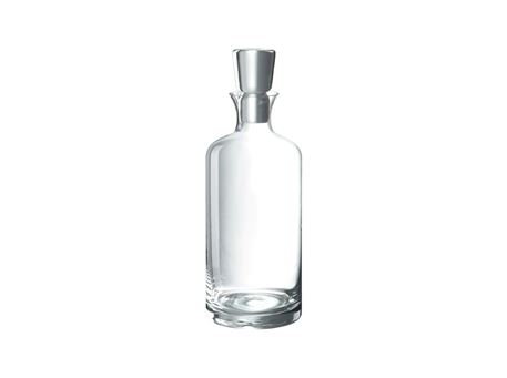 45833 - Bottle+Plug Cylinder Glass