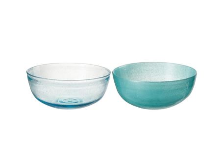 70507 - Blue Bowl Azure Glass
