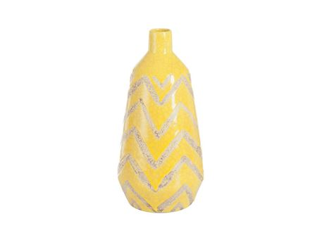 71275 - Vase Mexico Terracotta Yellow