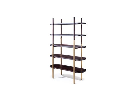 RD17032 - Modern Shelving Unit For Decorations And Books