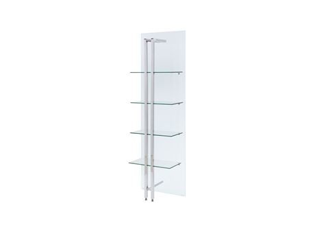 CALVIN - Decorative Glass Shelving Unit