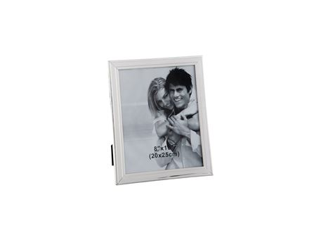 65058 - Silver Beveled Metal Photo Frame