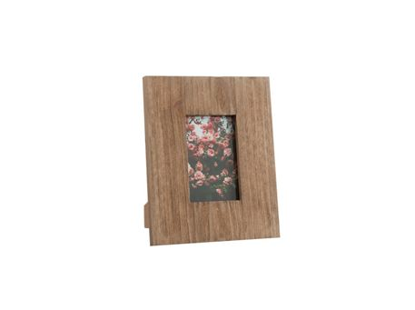 75423/24 - Photo Frame Square Wood Natural