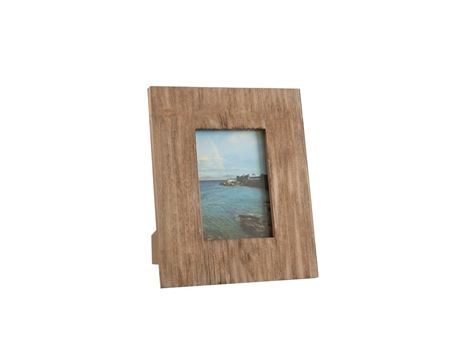 75424 - Photo Frame Square Wood Natural