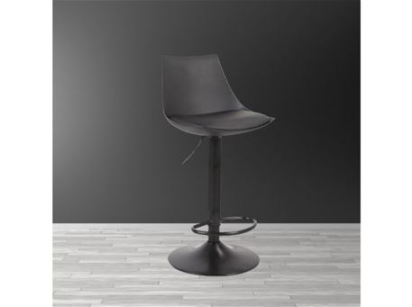Y-C - Simple Black Modern Bar-stool