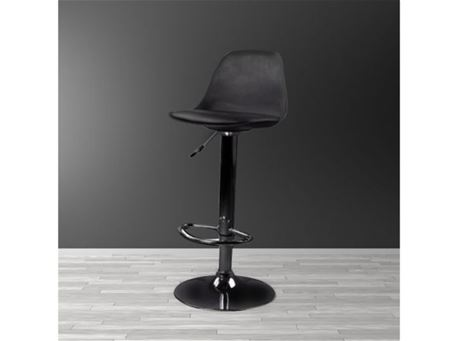Z-C - Simple Black Modern Bar-stool