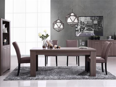 KYLE - Dark Oak Compact Dining Set